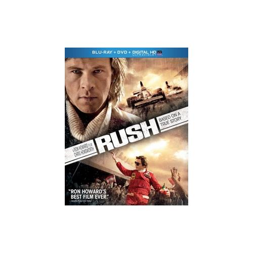 RUSH (BLU RAY/DVD W/DIGITAL HD ULTRAVIOLET) (2DISCS) 25192172588