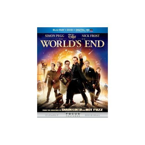 WORLDS END   BLU RAY/DVD W/DIGITAL HD W/ULTRAVIOLET (2DISCS) 25192175268