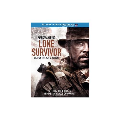 LONE SURVIVOR (BLU RAY/DVD W/DIGITAL HD W/ULTRAVIOLET COMBO) (2DISCS) 25192175893