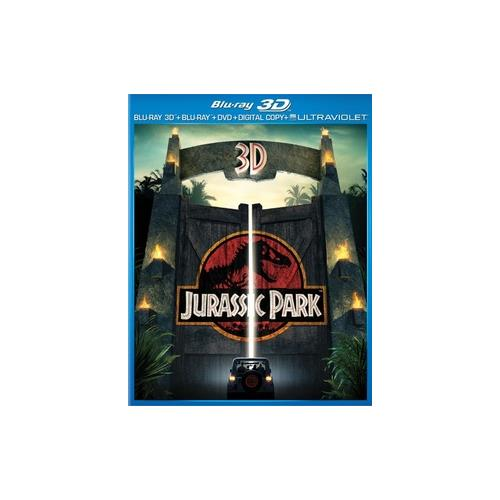 JURASSIC PARK (3D) BLU RAY/DVD COMBO PACK W/DIGITAL COPY/ULTRAVIOLET  (3-D) 25192180279