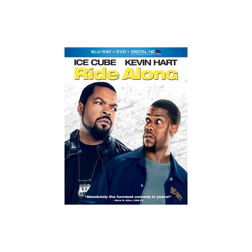 RIDE ALONG (BLU RAY/DVD/DIGITAL HD W/ULTRAVIOLET) 25192181832
