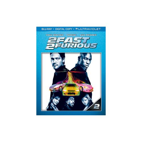 2 FAST 2 FURIOUS (BLU RAY W/DIGITAL COPY/ULTRAVIOLET) 25192185403