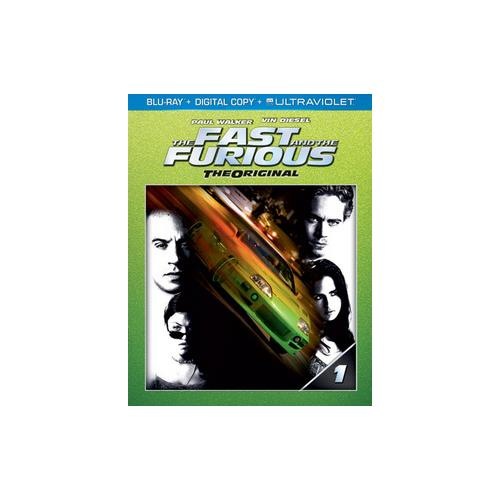 FAST & THE FURIOUS (BLU RAY W/DIGITAL COPY/ULTRAVIOLET) 25192185410