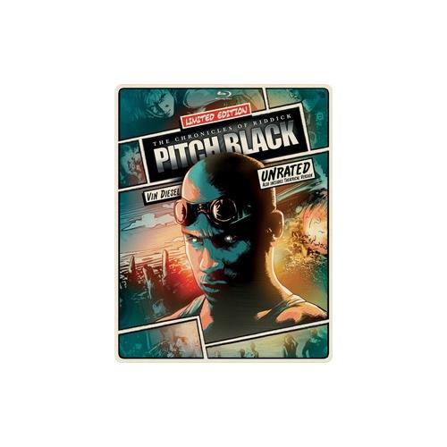 PITCH BLACK (BLU RAY/DVD COMBO/DIGITAL W/ULTRAVIOLET/STEELBOOK/2DISCS) 25192186530