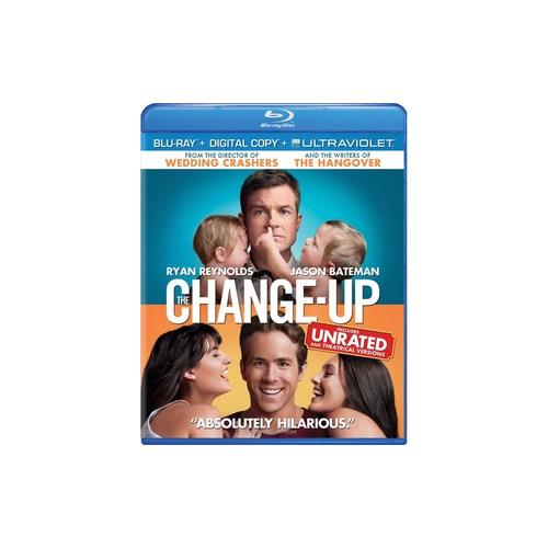 CHANGE-UP (BLU RAY W/DIGITAL COPY/ULTRAVIOLET) 25192187797