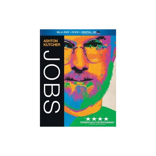 JOBS (BLU RAY/DVD/DIGITAL HD W/ULTRAVIOLET) (2DISCS) 25192190780