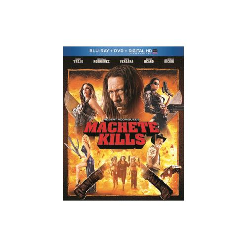 MACHETE KILLS (BLU RAY/DVD W/DIGITAL HD ULTRAVIOLET) (2DISCS) 25192191572