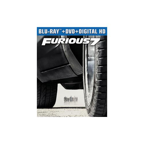 FURIOUS 7 (BLU RAY/DVD W/DIGITAL HD) 25192211690