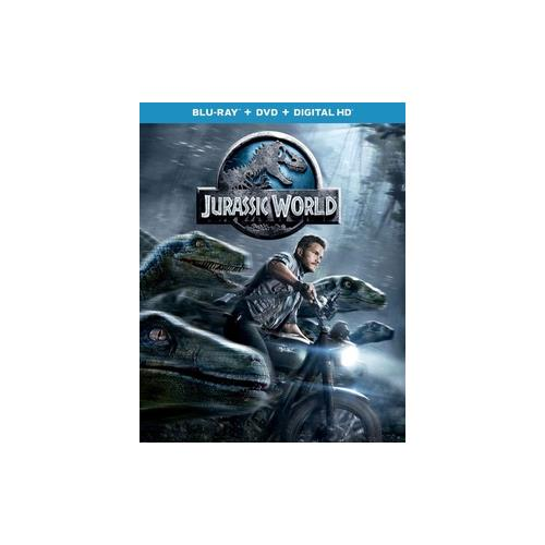 JURASSIC WORLD (BLU RAY/DVD/DIGITAL HD/2 DISC) 25192212215