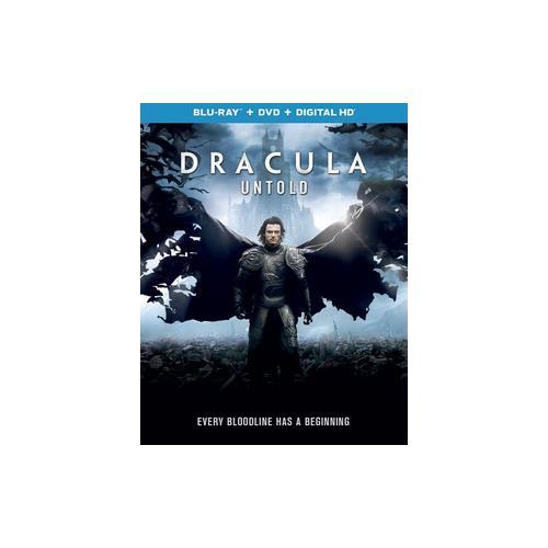 DRACULA UNTOLD (BLU RAY/DVD W/DIGITAL HD) 25192212413