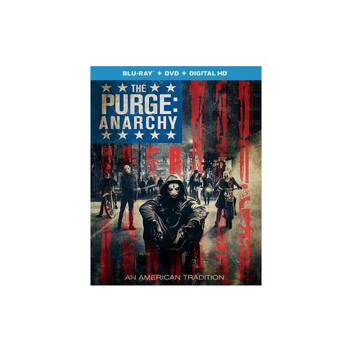 PURGE-ANARCHY (BLU RAY/DVD COMBO W/DIGITAL HD/UV) (2DISCS) 25192212994
