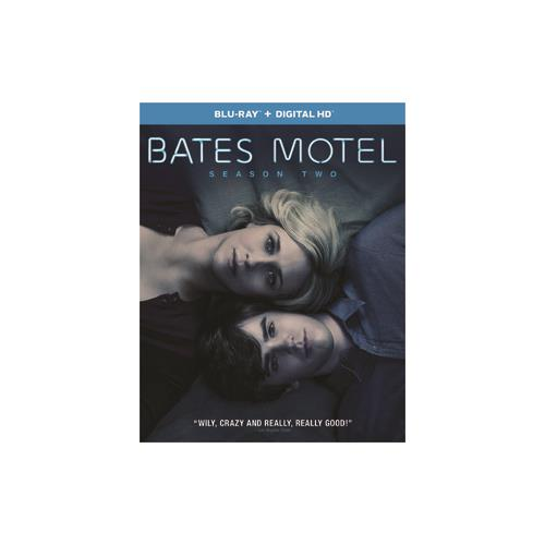 BATES MOTEL-SEASON TWO (BLU RAY W/ULTRAVIOLET/2DISCS) 25192213441