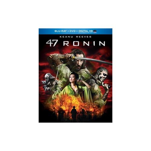 47 RONIN  (BLU RAY/DVD/DIGITAL HD W/ULTRAVIOLET) 25192219740