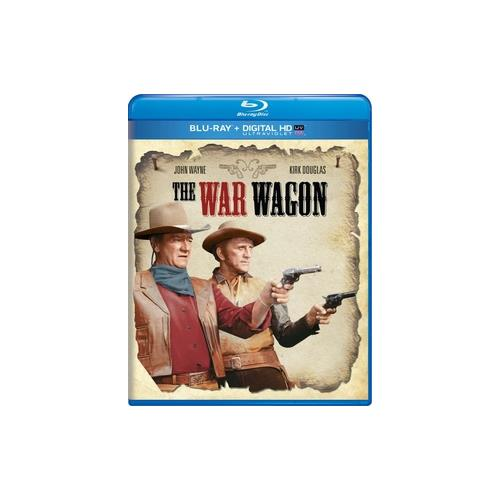 WAR WAGON (BLU RAY/DIGITAL HD W/ULTRAVIOLET) 25192225659
