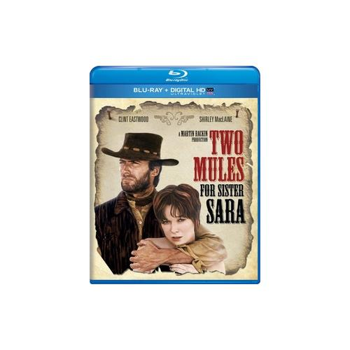 TWO MULES FOR SISTER SARA (BLU RAY/DIGITAL HD W/ULTRAVIOLET) 25192225666