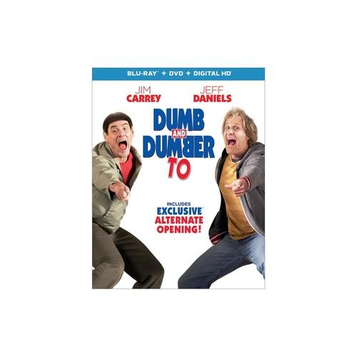 DUMB & DUMBER TO (BLU RAY/DVD COMBO PACK) (2DISCS) 25192223648
