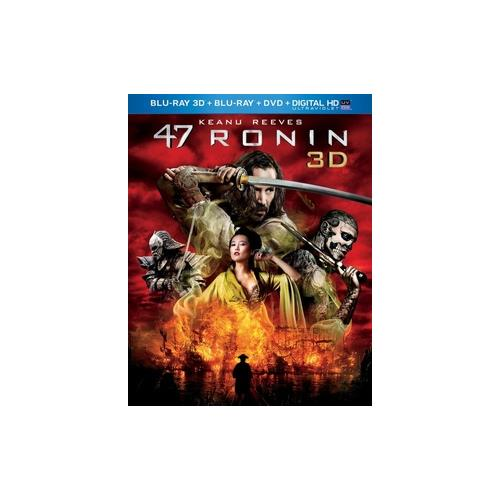 47 RONIN 3D COMBO PACK (BLU RAY 3D/BLU RAY/DVD/DIGITAL HD W/UV) (3-D) 25192233258