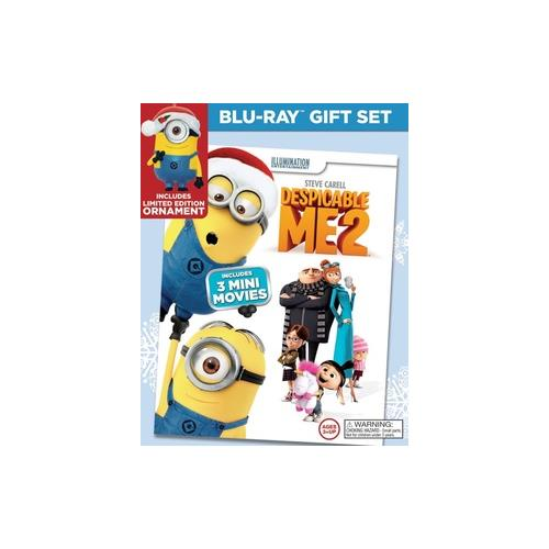 DESPICABLE ME 2 (BLU RAY/DVD) (LIMITED EDITION HOLIDAY GIFT SET) (2DISCS) 25192249235