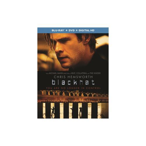 BLACKHAT (BLU RAY/DVD COMBO W/DIGITAL HD) 25192267758