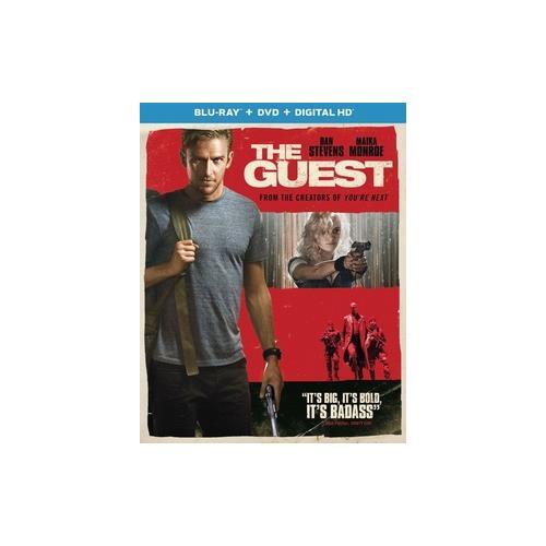 GUEST (BLU RAY/DVD W/DIGITAL HD) (2DISCS) 25192275258