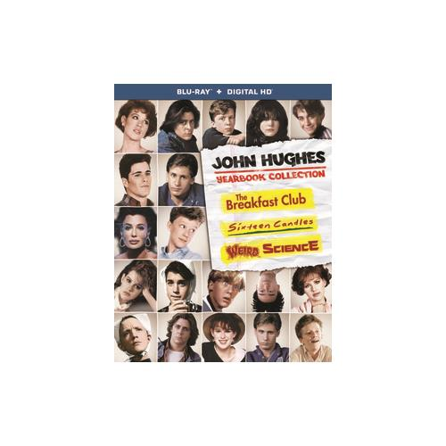 JOHN HUGHES YEARBOOK COLLECTION (BLU RAY W/DIGITAL HD) (3DISCS) 25192277757