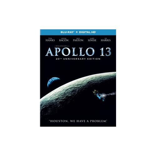 APOLLO 13 20TH ANNIVERSARY EDITION (BLU RAY W/DIGITAL HD) 25192283628