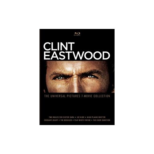 CLINT EASTWOOD-UNIVERSAL PICTURES 7-MOVIE COLLECTION (BLU RAY) (4DISCS) 25192290633