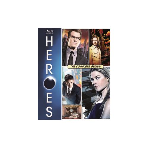 HEROES-COMPLETE SERIES (BLU RAY) (18DISCS) 25192319181