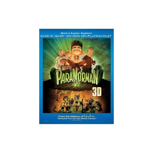 PARANORMAN BLU RAY/DVD/3D W/DIGITAL COPY (3-D) 25192155369