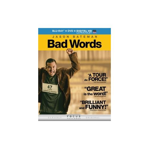 BAD WORDS (BLU RAY W/DVD/DIGITAL HD W/ULTRAVIOLET) 25192224973