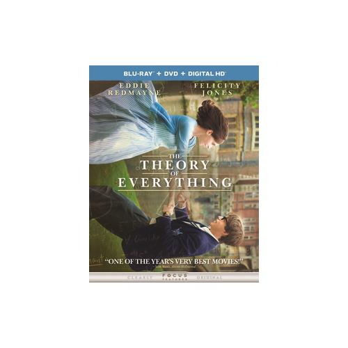 THEORY OF EVERYTHING (BLU RAY/DVD W/DIGITAL HD) 25192249808