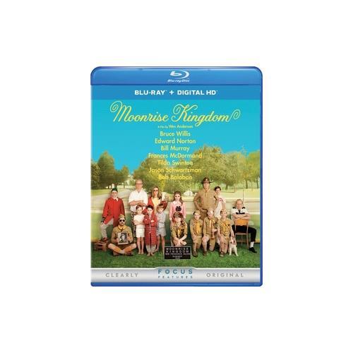 MOONRISE KINGDOM (BLU RAY W/DIGITAL HD) 25192292491