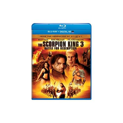 SCORPION KING 3-BATTLE FOR REDEMPTION (BLU RAY/NEW PACKAGING) 25192074899