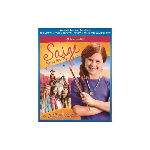 AMERICAN GIRL-SAIGE PAINTS THE SKY (BLU RAY) 25192189135