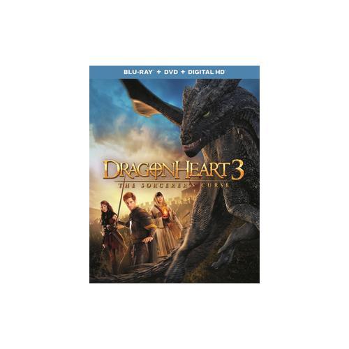 DRAGONHEART 3-SORCERERS CURSE (BLU RAY/DVD COMBO W/DIGITAL HD) (2DISCS) 25192199240