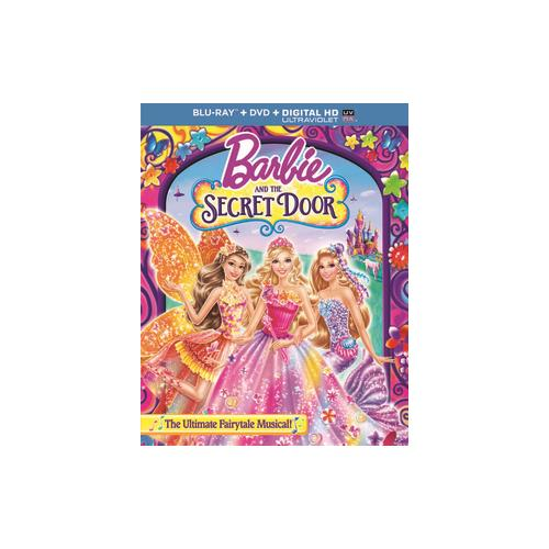 BARBIE & THE SECRET DOOR (BLU RAY/DVD W/DIGITAL HD/ULTRAVIOLET/2DISCS) 25192211089