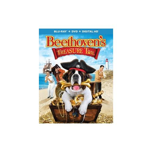BEETHOVENS TREASURE TAIL (BLU RAY/DVD W/DIGITAL HD/ULTRAVIOLET/2DISCS) 25192214035