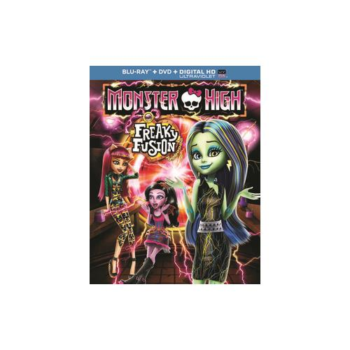 MONSTER HIGH-FREAKY FUSION (BLU RAY/DVD W/DIGITAL HD/ULTRAVIOLET/2DISCS) 25192220197