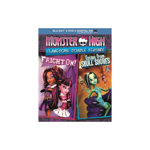 MONSTER HIGH-CLAWESOME DOUBLE FEATURE (BLU RAY/DVD/DIGITAL HD W/ULTRAVIOL 25192240584