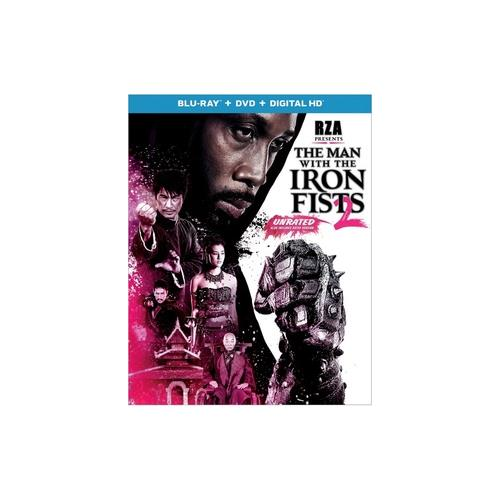 MAN WITH THE IRON FISTS 2 (BLU RAY/DVD W/DIGITAL HD) 25192242687