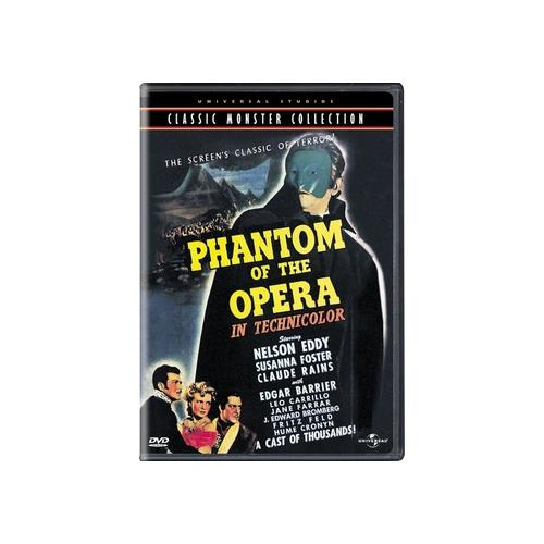 PHANTOM OF THE OPERA (1943/DVD/DOL DIG/ENG/SPAN/FF) 25192076725