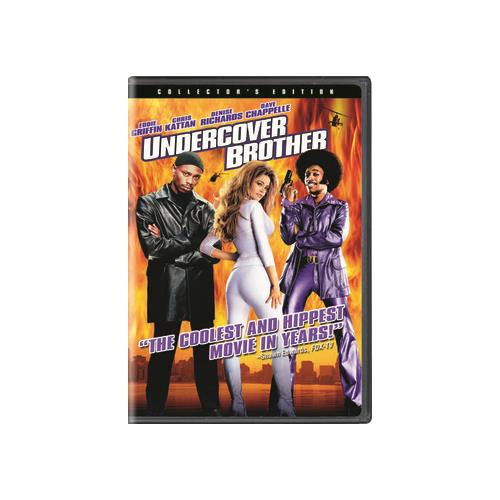 UNDERCOVER BROTHER (DVD)COLL EDIT/WS/DOL DIG 5.1 SUR/DTS 5.1 SUR/1.85:1 25192245022
