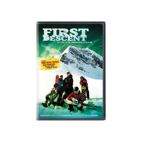 FIRST DESCENT (DVD) 25192844928