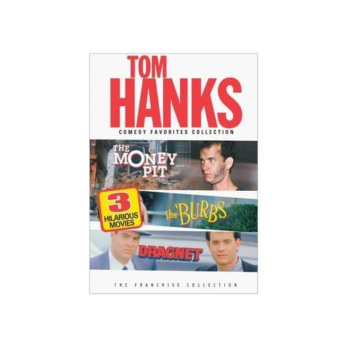 HANKS T-COMEDY FAVORITES COLLECTION (DVD) (2DISCS)(MONEY PIT/DRAGNET/BURBS) 25193295620