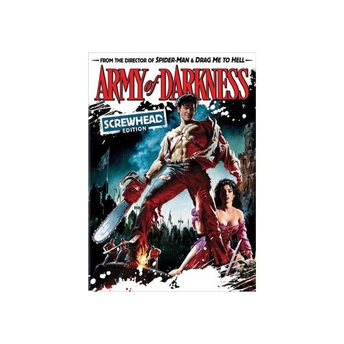 ARMY OF DARKNESS (DVD) (SCREWHEAD EDITION) 25195054607