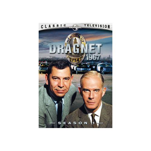 DRAGNET-SEASON 1 (DVD/NEW PACKAGING/2DISCS/ENG SDH/FREN/SPAN/DOL DIG/1967) 25192060410