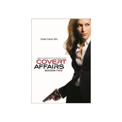 COVERT AFFAIRS-SEASON TWO (DVD) (ENG SHD/WS/1.78:1) 25192110818