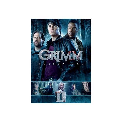 GRIMM-SEASON ONE (DVD) (ENG SDH/WS/1.78:1/5DISCS) 25192124044