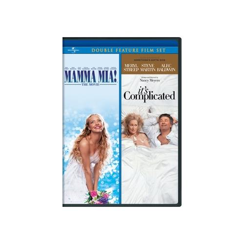 MAMMA MIA/ITS COMPLICATED (DVD) (DOUBLE FEATURE/WS/2DISCS) 25192136948