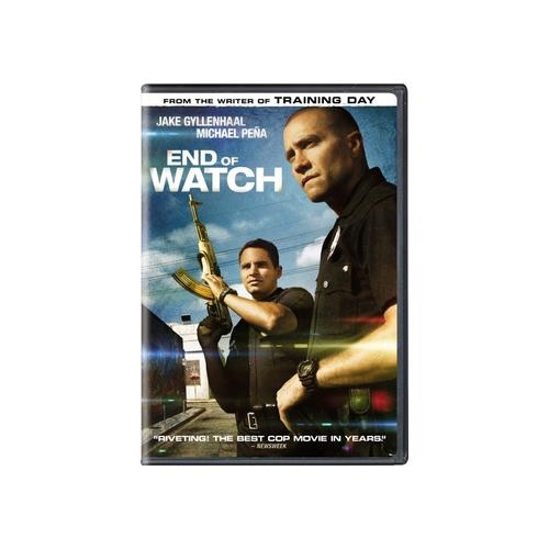 END OF WATCH (DVD) (ENG SDH/SPAN/FREN/WS/1.85:1) 25192157837